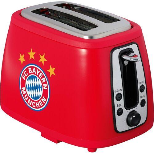 FC Bayern Toaster Toaster mit Sound München, rot