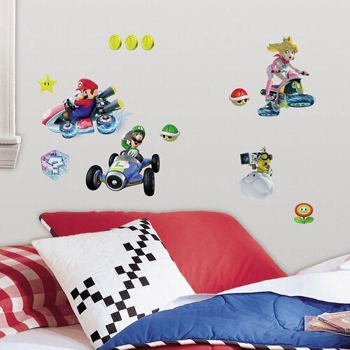 RoomMates Wandsticker »Wandsticker Nintendo Mario Kart 8, mehrfarbig«