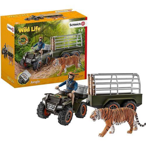 Schleich® Spielfigur »Schleich 42351 Quad mit Anhänger und Ranger«
