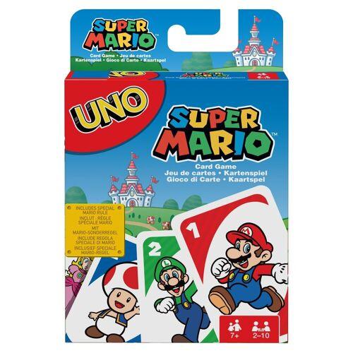 Mattel Spiel, »UNO - Super Mario - Kartenspiel«