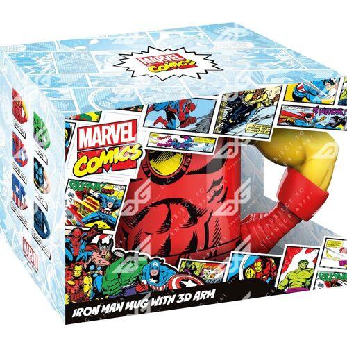 Tasse »Iron Man Tasse 3D Arm«