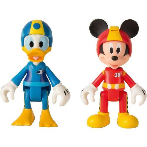IMC TOYS Sammelfigur »Micky Roadster Racers 2 Figuren (Micky+Donald)«