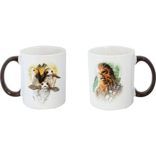 Joy Toy Tasse »Star Wars - Chewie und Porgs Keramiktasse«