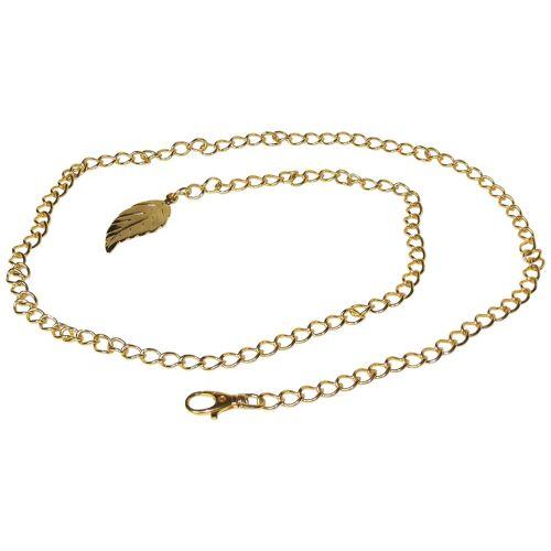 FRONHOFER Kettengürtel »18380« goldener Kettengürtel ca. 1 cm breit, 120 cm lang