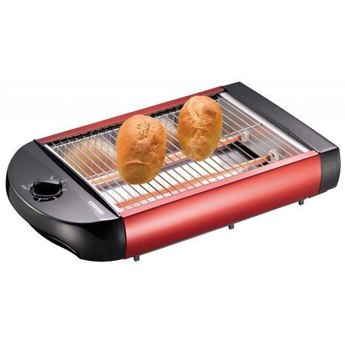 MELISSA Toaster 16140124 Flach-Toaster Brötchen-Röster, rot, 600 W
