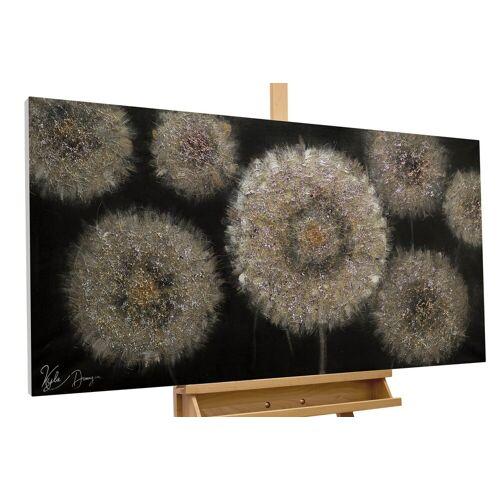 KUNSTLOFT Gemälde »Meer aus Pusteblumen«, handgemaltes Bild auf Leinwand
