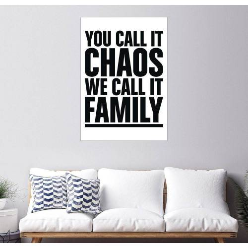 Posterlounge Wandbild, Family