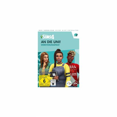 Electronic Arts PC Die Sims 4 - An die Uni (Add-On) (CODE IN A BOX)