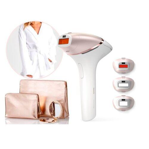 Philips IPL-Haarentferner BRI959/00, 250000 Lichtimpulse, Lumea Prestige, 250000 Lichtimpulse, für Körper, Gesicht, Achseln & Bikinizone