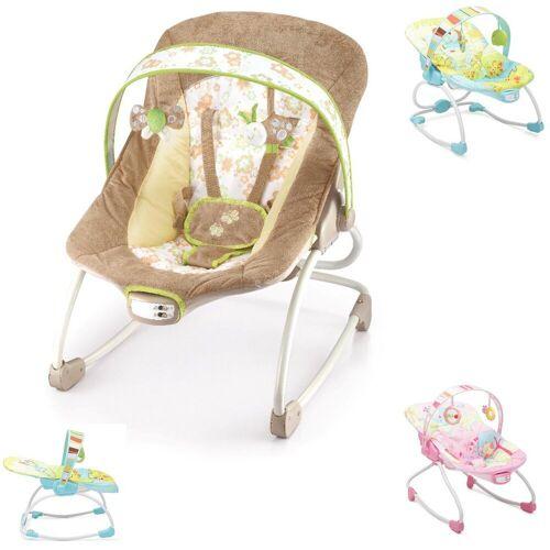 Moni Babywippe »Babywippe und Stuhl Merry 2 in 1«, mit Musikfunktion und Vibration, beige