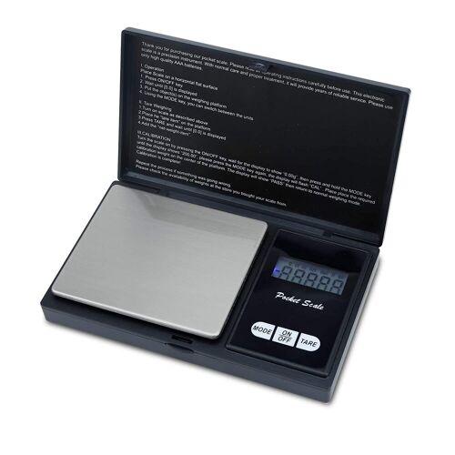 Intirilife Küchenwaage »500g Elektronische Taschenwaage«, Extrem Präzise Digitalwaage für Münzen, Schmuck, Gold, Küche, Kochen