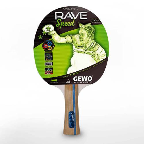 Gewo Tischtennisschläger »Schläger Rave Speed«