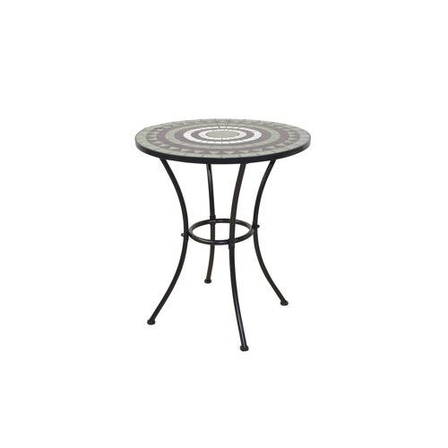 moebel-direkt-online Gartentisch »Bodo« (1-St), mit Mosaik-Tischplatte, schwarz/grün