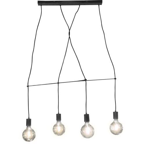 Nino Leuchten Pendelleuchte »Alma«, Seilsystem, Hängeleuchte, Hängelampe