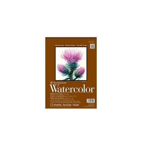 Strathmore Artist Papers™ Aquarellpapier »400 Series Watercolor, Spiralblock, 22,9 x 30,5 cm, 300 g/m², 12 Blatt«
