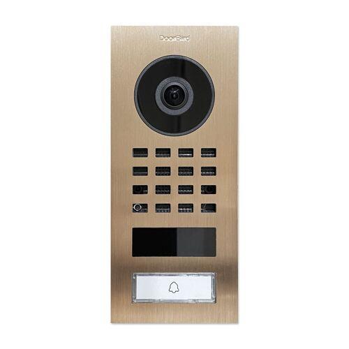 DoorBird »D1101V« Smart Home Türklingel (Außenbereich), Bronze Optik (Aufputz)