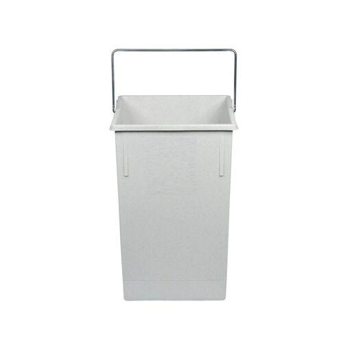 Hailo Einbaumülleimer »Mülleimer Ersatz Inneneimer 15 Liter«, weiße eckige Form mit Henkel, Weiß