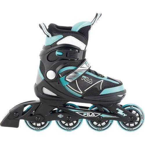 Fila Skates Inlineskates »Inlineskate J-One Sky black/mint Größe M (32-36)«