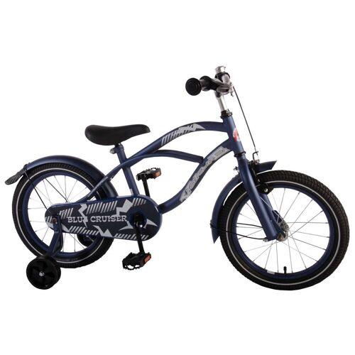 Volare Kinderfahrrad »16 zoll Fahrrad Blue Cruiser«, 1 Gang, Matt Blau
