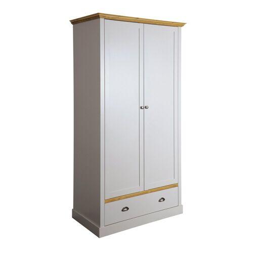 ebuy24 Kleiderschrank »Sandy Kleiderschrank mit 2 Türen und 1 Schublade g«
