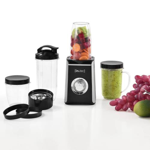 in.tec Elektrisches Rührwerk, 220 W, »Smoothie Maker« 9in1 Mixer