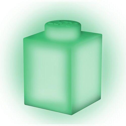 Lego Nachttischlampe »Nachtlicht LEGO-STEIN, grün«