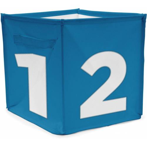 ACHOKA® Aufbewahrungsbox »Aufbewahrungsbox Würfel - rot«, blau