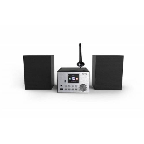 Xoro »HMT 500 Pro« Microanlage (Digitalradio (DAB), 20 W, MP3-Streaming (UPnP) vom PC oder NAS)