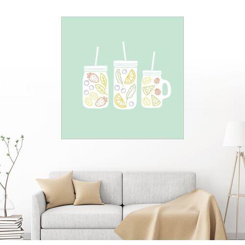 Posterlounge Wandbild, Fruchtlimonade