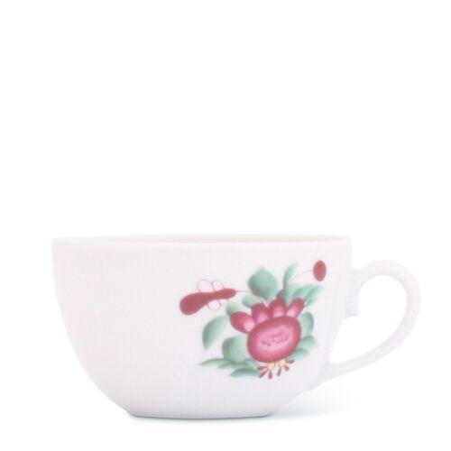 Friesland Porzellan Tasse »Teetasse 0,15l Atlantis Ostfriesische Rose Friesla«