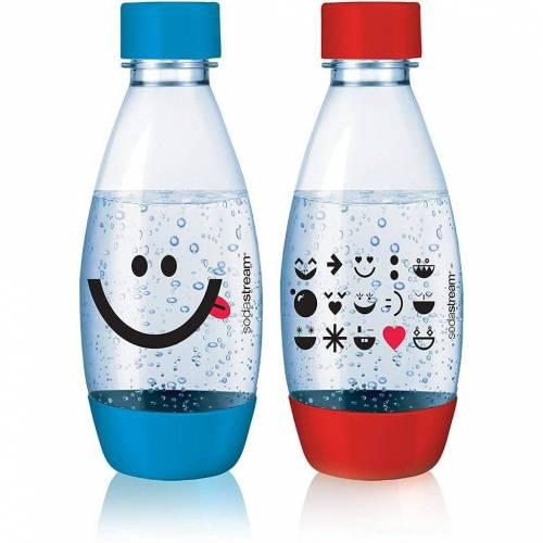 SodaStream Kindertrinkflasche »PET KIDS Flasche Duopack 0,5 Liter«