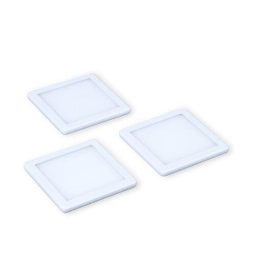 kalb Material für Möbel LED Unterbauleuchte »kalb LED Unterbauleuchten Küchenleuchte Küchenleuchten Panel Unterbauleuchte Küche«, warmweiß