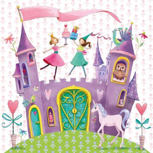 PPD Papierserviette »Princess Castle 20 Stück 33 cm«