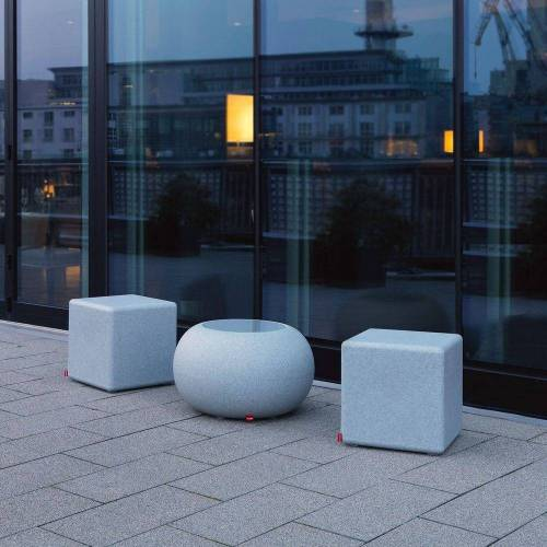 Moree LED Gartenleuchte »Granite Cube Outdoor«