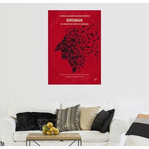Posterlounge Wandbild, Premium-Poster Birdman