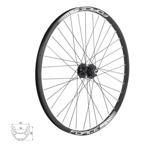 FORCE Fahrrad-Laufrad »Vorderrad DISC 6 Loch Disk - MTB Laufrad«