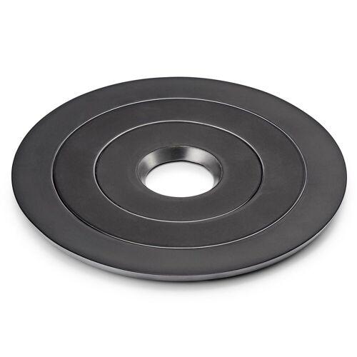 Philippi Topfuntersetzer Ofenringe 3tlg.Topfuntersetzer Set in schwarz