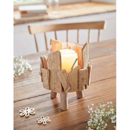 HomeLiving Windlicht »Treibholz«