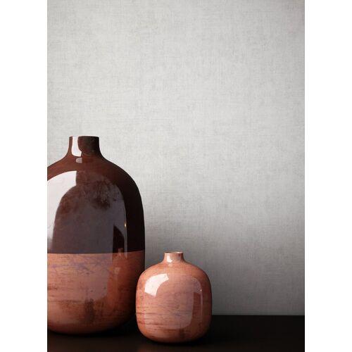 Newroom Vliestapete, Grau Tapete Struktur Modern - Uni Einfarbig Weiß Monochrom Schlicht für Schlafzimmer Wohnzimmer Küche, weiß