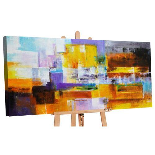 ART YS-Art Gemälde »Abstraktion IX 173«