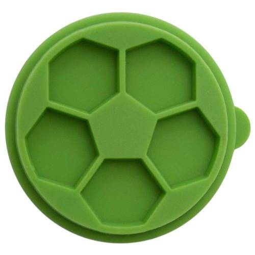 Birkmann Gebäckstempel »Set Smiley & Fussball 2-tlg.«, Plastiksilikon