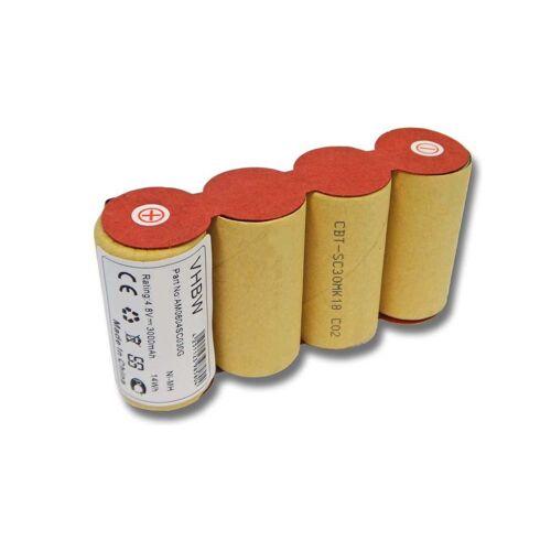 AccuCell Staubsaugerrohr NiMH-Akku - 3000mAh (4.8V) für elektrischer Besen