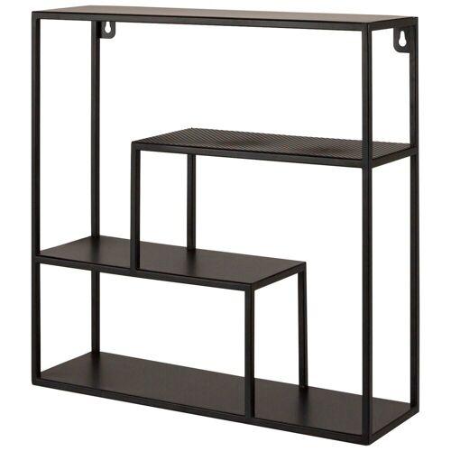 mokebo Wandregal »Die Variable«, auch als Metall Wandboard im industrial Design