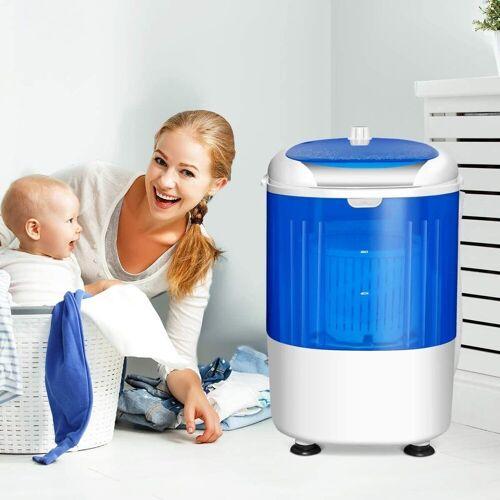 COSTWAY Kinder-Waschmaschine »Campingwaschmaschine Mini Waschmaschine«, mit Trockenschleuder, mit 2,5kg Kapazität, 170 Watt