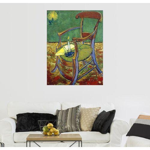 Posterlounge Wandbild, Gauguins Stuhl