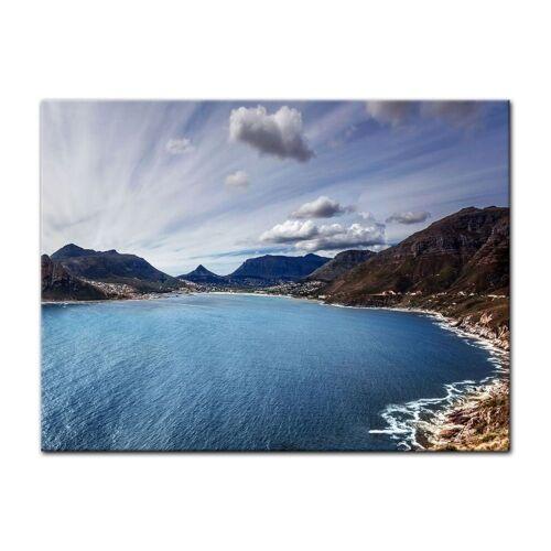 Bilderdepot24 Leinwandbild, Leinwandbild - Küste Südafrika