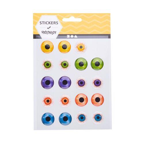 creativ company Sticker »3D Sticker 'Gruselige Augen'«