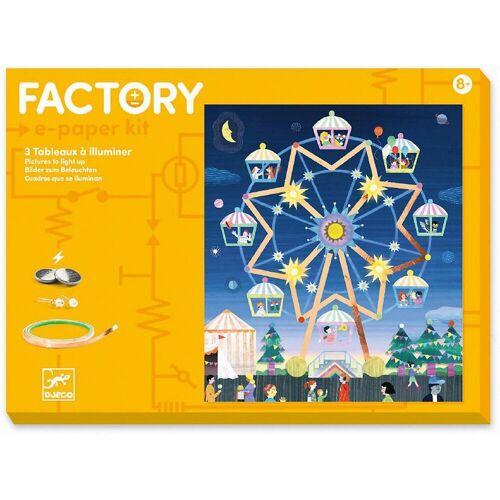DJECO Lernspielzeug »Factory - Hoch oben«