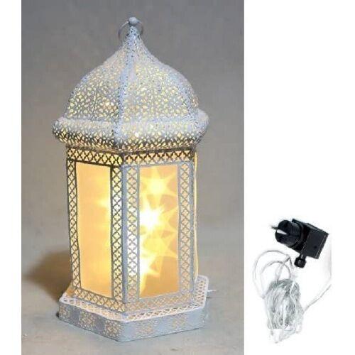 JOKA international LED Laterne »Hologramm Laterne mit Netzstecker 14872«