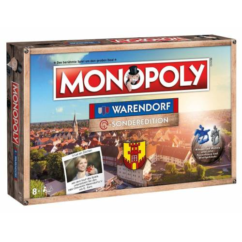 Winning Moves Spiel, Brettspiel »Monopoly Warendorf«